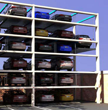 Torre Automatizada de Estacionamientos PS010: Solución Perfect Parking